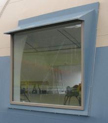 Sprung Rectangler Window