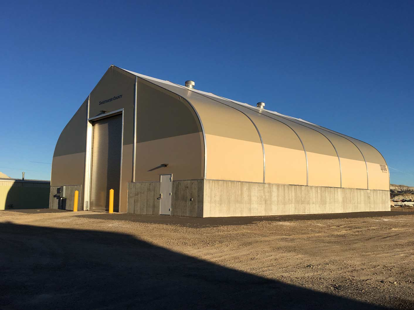 Salt Amp Sand Storage Maintenance Shelter Facilities