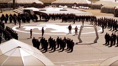 Starship Troopers Film Set