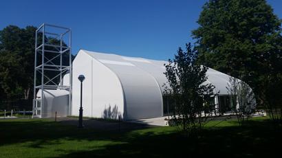 Dartmouth tensioned membrane structure