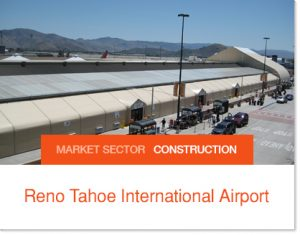 Reno Tahoe Airport Construction Flex Space Sprung Structures interim space