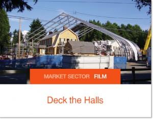 Sprung établit un studio pour Deck the Halls
