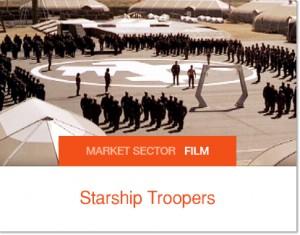 Structures Sprung utilisées pour Starship Trooper