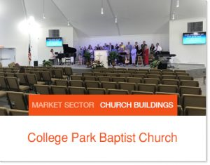 College Park Baptist Church - Sprung Building