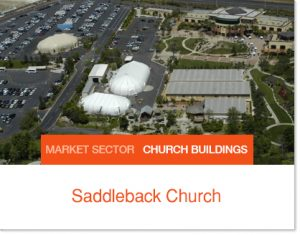Saddleback Church expanding growing using Sprung Structures