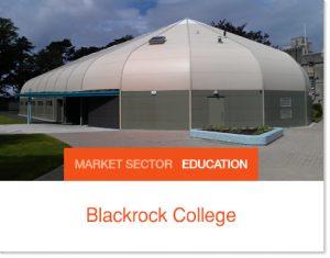 blackrock college sprung sports hall