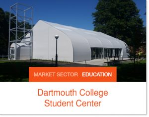 Dartmouth Ivy College Student center Sprung Building