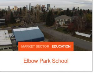 Elbow Park School Tent Building