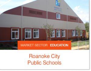 Roanoke City Public Schools Tent Building Sprung Structure