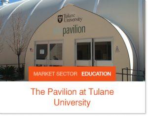 Tulane University sprung building