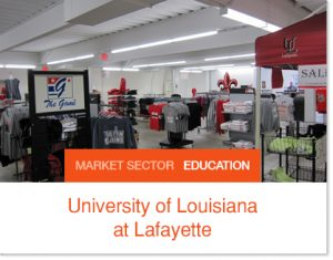 University of Louisiana Sprung book store