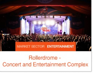 Rollerdome Arena and Entertainment Center - Sprung Structure