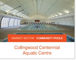 Collingwood Centennial Aquatic Centre Community Pool Tent Sprung