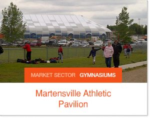 Martensville Athletic Pavilion School Gym City Gym and sports facility Sprung structure