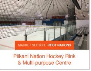 Piikini Nation Hockey Rink ice arena