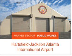 Hartsfield Jackson Atlanta International Airport Sprung buildings