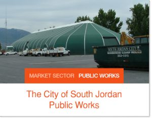 the City of South Jordan Public Works Sprung buildings