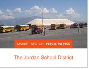 The Jordan School District Sprung buildings