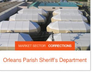 Orleans Parish Corrections Facility Sprung Structures after Hurricane Katrina