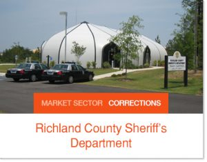 Richland County Sheriffs Department Sprung Buildings