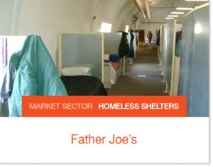 Father Joes Homeless Shelters Sprung Tents