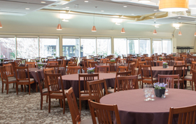 Harvard Business School Interim Tent Dining Facility provided by Sprung Structures