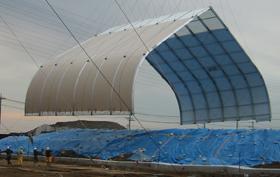 Kobe Musturd Gas Remediation Sprung Structures