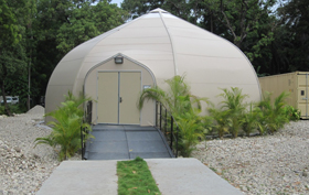 Sprung Fabric Buildings Haiti Govenment Office buildigns