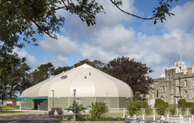 Gymnasium Blackrock College Sports Hall Sprung building