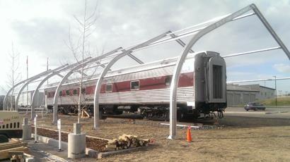 Rail Sprung Building