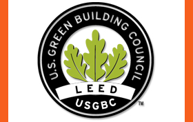 LEED points Sprung Structure