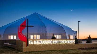 St. James Church Sprung Building
