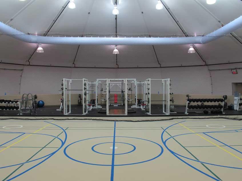 Gymnasium Centers Gym Buildings Sprung 187 Sprung Structures