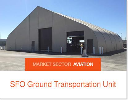SFO Ground Transport - Sprung Buildings