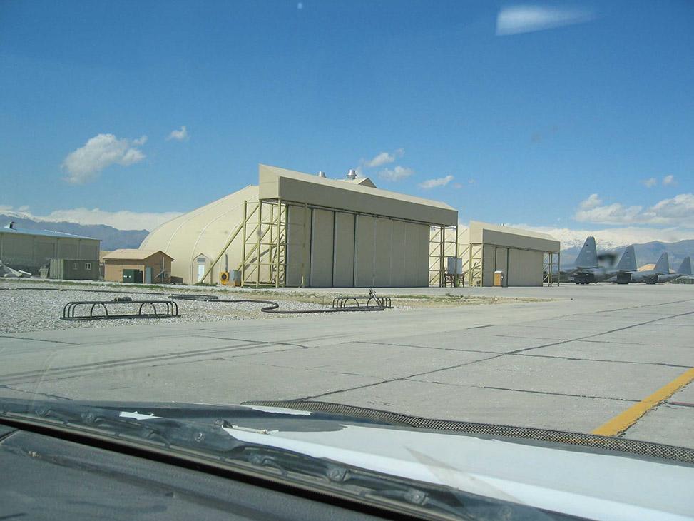 & Aircraft Hangar Doors - Sprung Structures » Sprung Structures