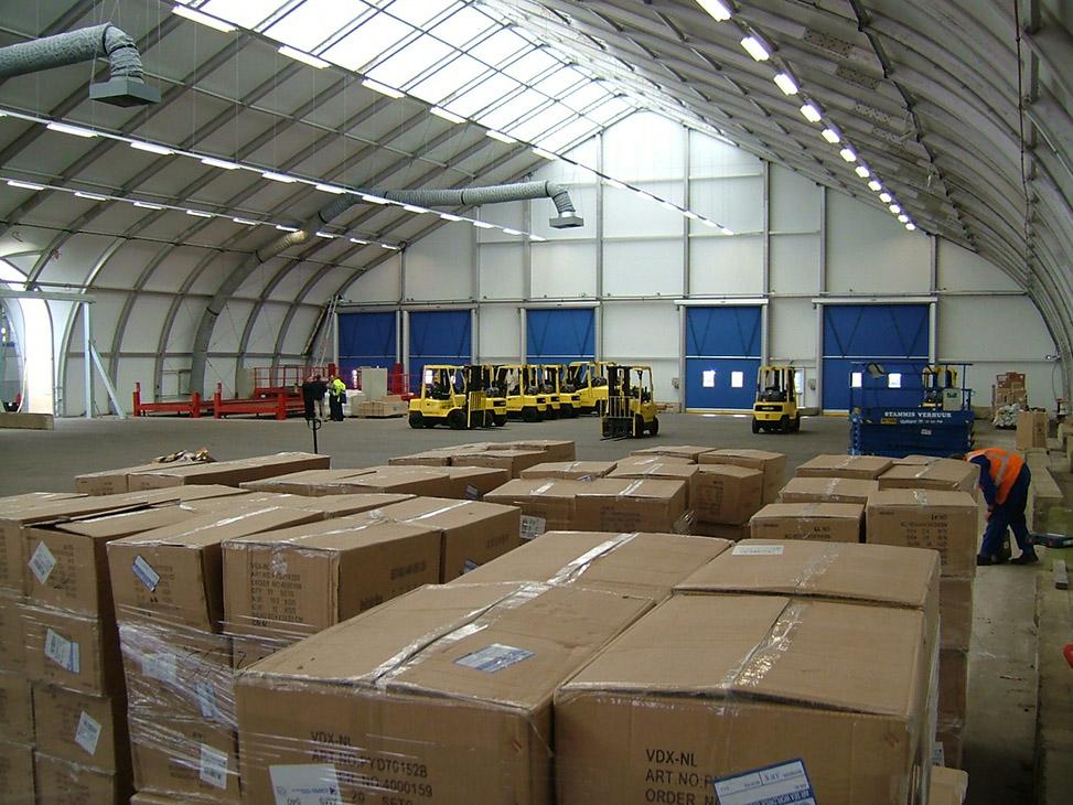 Polar Air Cargo At Schiphol Airport Sprung Structures