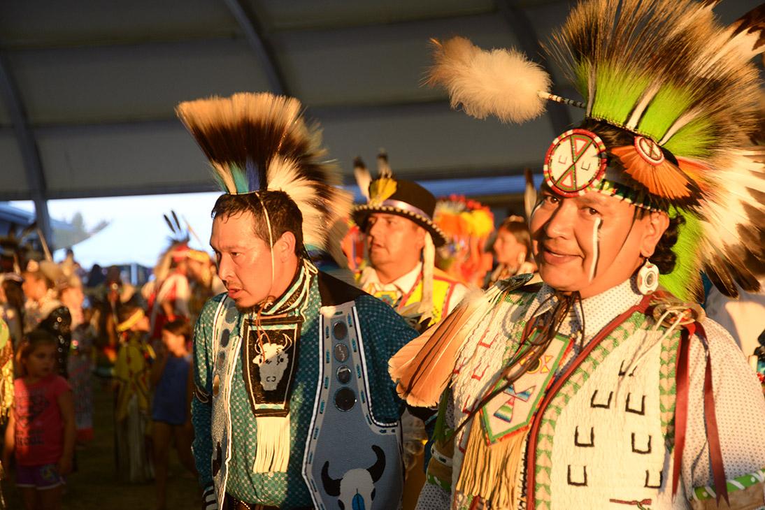 الإحتفال الأول البوواو لدولة إنوك كري