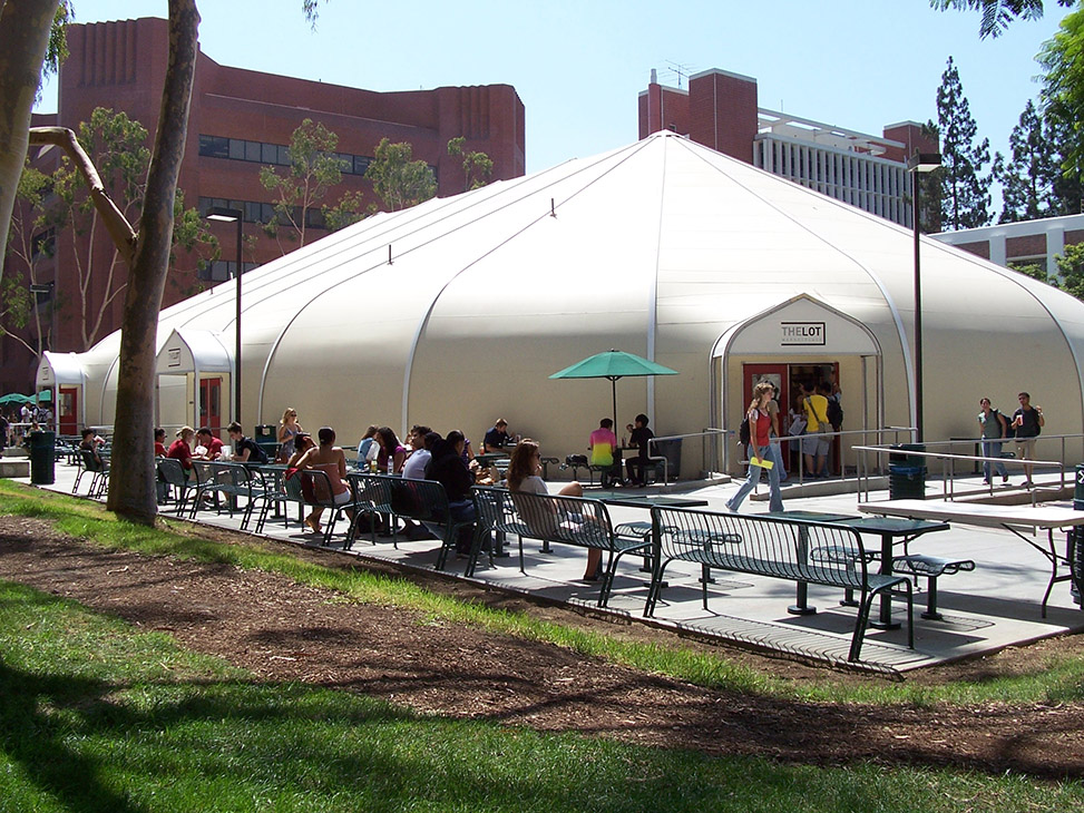The Lot at University of Southern California - Sprung Structures » Sprung Structures & The Lot at University of Southern California - Sprung Structures ...