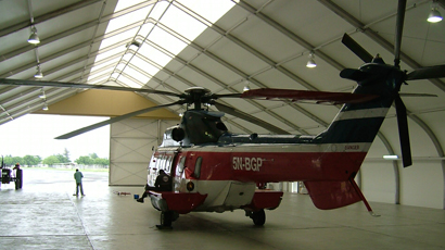 Shell Nigeria Helicopter Hangar