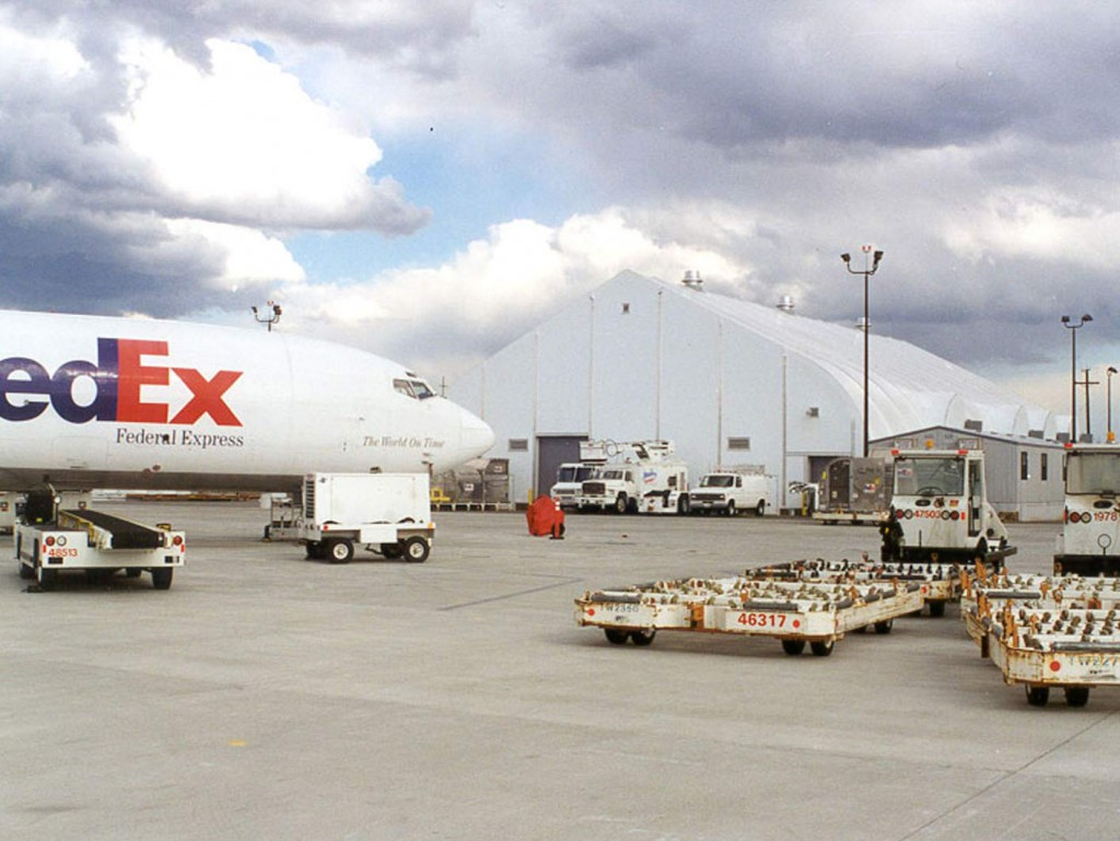 Warehousing FedEx Fabric Structure
