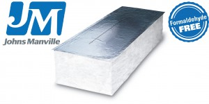 Johns Manville formaldehyde free insulation used in tensile structures