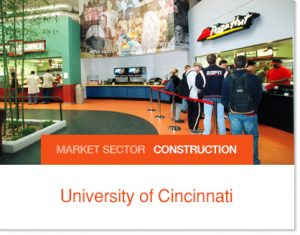 University of Cincinnati Interim flex space for University during construction Sprung Tents
