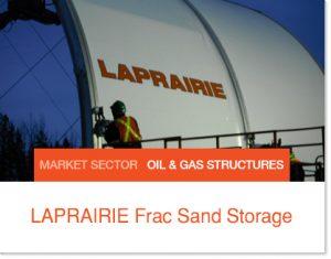 LaPraire Frac Sand Storage