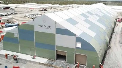 Goldcorp Sprung Structure Portable building