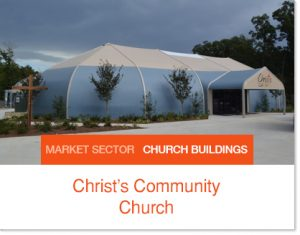 Christs Community Church Tent Sprung Building