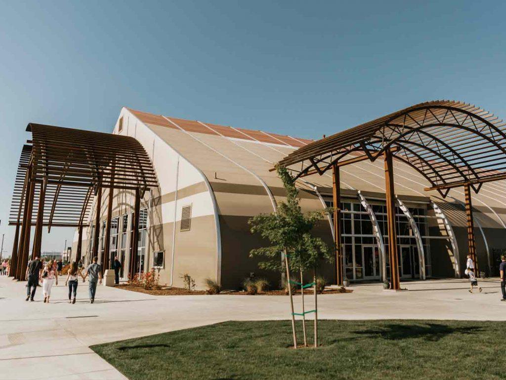 Church Buildings Prefab Church Structure Designs Sprung,Kelly Wearstler Kitchen Design