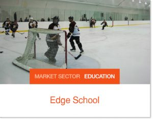 Edge School Sprung tent building