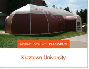 Kutztown University Tent Pavilion Sprung Structure