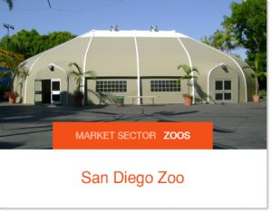 San Diego Zoo Banquet Venue wedding venue banquet faciltiy Sprung building