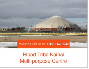Blood Tribe Sprung Building